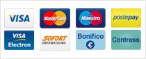 Compribene Pagamenti con Carte di credito